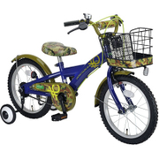 YG-0261 [子ども用自転車 BENETTON-KIDS16 ブルー/グリーン]