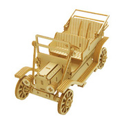 Wooden Art ki-gu-mi クラシックカー スマホスタンド
