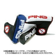 AM PUTTER COVER 16 BLACK/RED [AMヘッドカバー パター用]