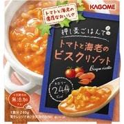 押し麦ごはんで トマトと海老のビスクリゾット 250g [レンジ調理食品]