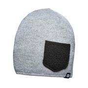 Beanie WINTER Heather gray/Black [レンズキャップポケット付き ビーニー帽 冬用 ヘザーグレイ/ブラック]
