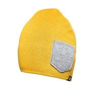 Beanie WINTER Sunflower/Heather gray [レンズキャップポケット付き ビーニー帽 冬用 サンフラワー/ヘザーグレイ]