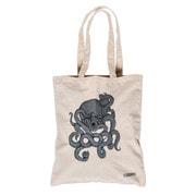 Canvas Bag OCTOGRAPHER Ecru [バッグ]