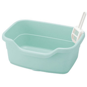 コロル ネコトイレ F40 ライトブルー [猫用トイレ 固まる猫砂用]