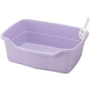 コロル ネコトイレ F60 パープル [猫用トイレ 固まる猫砂用]