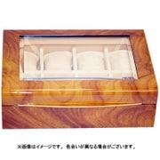 IG-ZERO56-5Y [8本入ボックス 窓付 茶木目模様]