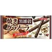 ギンビス 焼きグラノーラ黒雑穀 13本 [健康食品 1袋]