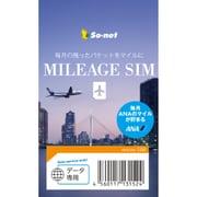 ANA MILEAGE SIM データ microSIM 1524
