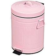HB-2216 [ペダル式ダストボックス クラウスペダルペール 5L ピンク]