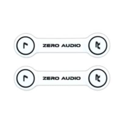 ZA-CLP-WK [ヘッドホンクリップ ホワイト/ブラック]