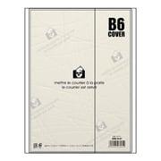DME-R-02 [マンスリーノート ダイアリーカバー B6サイズ クリア]