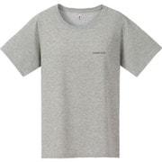 1114111-HCH-XL [WIC. ワンポイントロゴTシャツ ウィメンズ XLサイズ ヘザーチャコール]