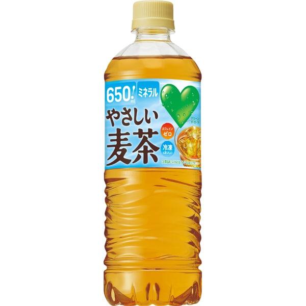GREEN DA・KA・RA やさしい麦茶 650mlPET×24本 [お茶]
