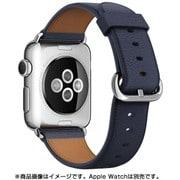 Apple Watch 38mmケース用 ミッドナイトブルー クラシックバックル