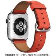 Apple Watch 38mmケース用 レッド クラシックバックル