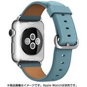 Apple Watch 38mmケース用 ブルージェイ クラシックバックル