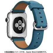 Apple Watch 38mmケース用 マリンブルー クラシックバックル