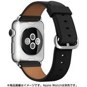 Apple Watch 38mmケース用 ブラック クラシックバックル