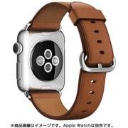 Apple Watch 38mmケース用 サドルブラウン クラシックバックル