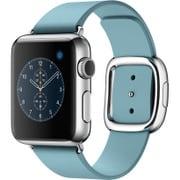Apple Watch 38mm ステンレススチールケースとブルージェイモダンバックル - Medium