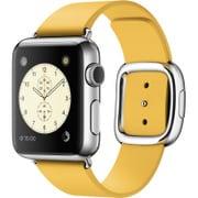 Apple Watch 38mm ステンレススチールケースとマリーゴールドモダンバックル - Large