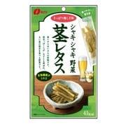 シャキシャキ野菜 茎レタス うめしそ味 35g