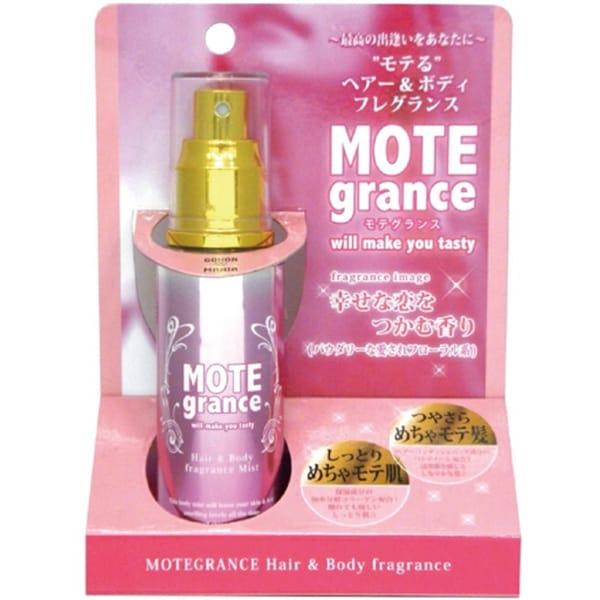 MOTEgrance -モテグランス- for WOMAN 幸せな恋をつかむ香り~パウダリーな愛されフローラル系~ [ヘアー&ボディ用 フレグランスミスト]