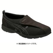 FLC307-9090 [ウォーキングシューズ ライフウォーカー 307(W) レディース 24.5cm ブラック×ブラック]