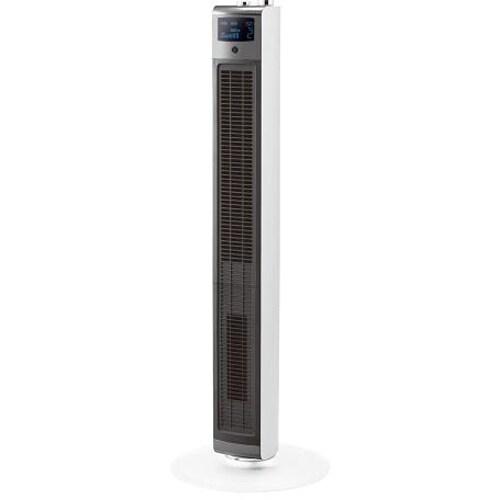 KHF1261W [HOT&COOL ハイタワーファン DCモーター リモコン付 ホワイト]