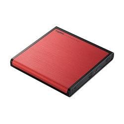 LDR-PMJ8U2LRD [USB2.0 ポータブルDVDドライブ 書込ソフト付き レッド]