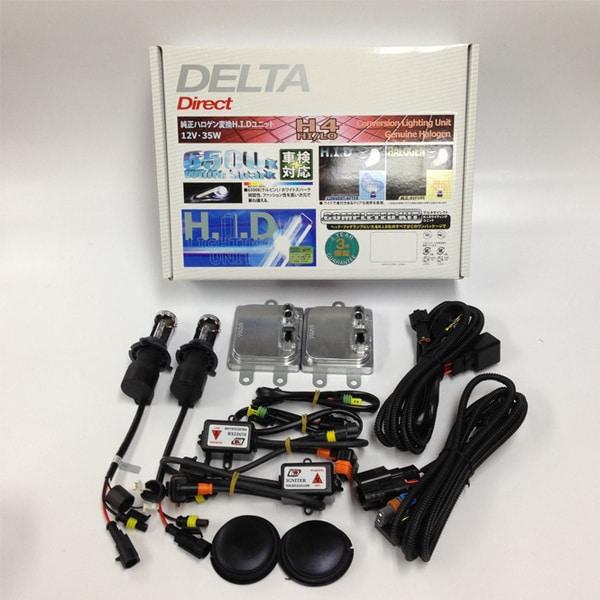 D-1297 [35W HIDライトニングユニット H4 Hi/Low 5200K]