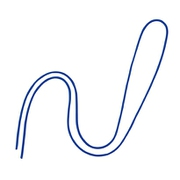 NB-312-BU [丸紐 100本入 青]