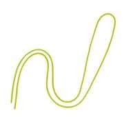 NB-312-GN [丸紐 100本入 緑]