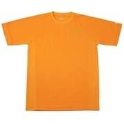RAKUシャツ SPORTS (吸汗速乾) 半袖 [ユニセックス Mサイズ オレンジ]