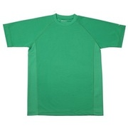 RAKUシャツ SPORTS (吸汗速乾) 半袖 [ユニセックス LLサイズ グリーン]