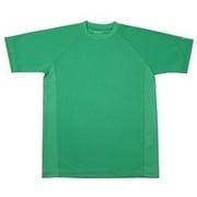 RAKUシャツ SPORTS (吸汗速乾) 半袖 [ユニセックス 3Lサイズ グリーン]
