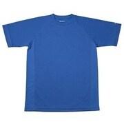 RAKUシャツ SPORTS (吸汗速乾) 半袖 [ユニセックス Mサイズ ロイヤルブルー]