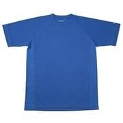 RAKUシャツ SPORTS (吸汗速乾) 半袖 [ユニセックス Lサイズ ロイヤルブルー]