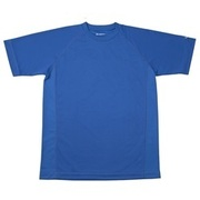 RAKUシャツ SPORTS (吸汗速乾) 半袖 [ユニセックス 3Lサイズ ロイヤルブルー]