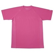RAKUシャツ SPORTS (吸汗速乾) 半袖 [ユニセックス Sサイズ チェリーピンク]