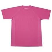 RAKUシャツ SPORTS (吸汗速乾) 半袖 [ユニセックス 3Lサイズ チェリーピンク]