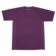 RAKUシャツ SPORTS (吸汗速乾) 半袖 [ユニセックス 4Lサイズ パープル]