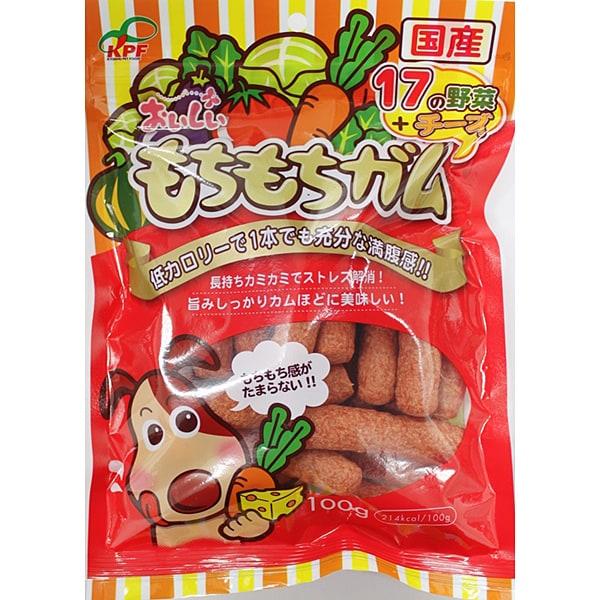 おいしいもちもちガム野菜&チーズ [犬用 100g]