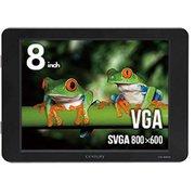 LCD-8000V2B [PC用サブモニター 8インチアナログRGBモニター ブラック]
