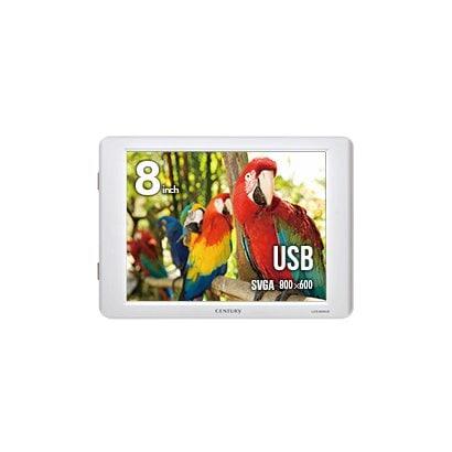 LCD-8000U2W [PC用サブモニター 8インチUSB接続サブモニター ホワイト]