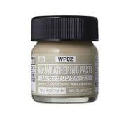 WP02 Mr.カラー仕上げ材 Mr.ウェザリングペースト マッドホワイト [プラモデル用塗料]