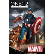 ONE:12 コレクティブル MARVEL(マーベル)・ユニバース キャプテン・アメリカ [1/12スケール アクションフィギュア]