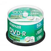 DRD120WPE.50SP [録画用DVD-R インクジェットプリンター対応 ひろびろ美白レーベル CPRM対応 120分 50枚スピンドルケース]