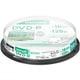 DRD120PWE.10SP [録画用DVD-R インクジェットプリンター対応 ひろびろホワイトレーベル 120分 10枚スピンドルケース]