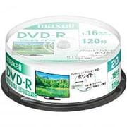 DRD120PWE.20SP [録画用DVD-R インクジェットプリンター対応 ひろびろホワイトレーベル 120分 20枚スピンドルケース]